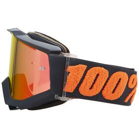 100% Accuri Anti Fog Mirror - Masque - gris/rouge
